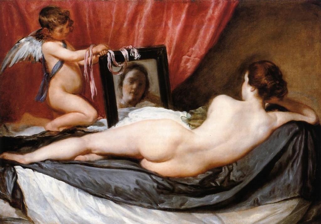 dama del espejo - velazquez